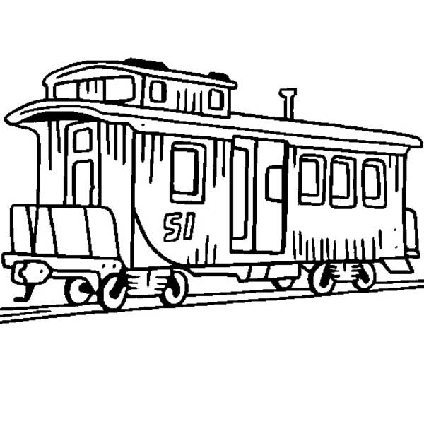 Caboose Train Coloring Page Color Luna Train Coloring Pages Coloring Pages Cars Coloring Pages