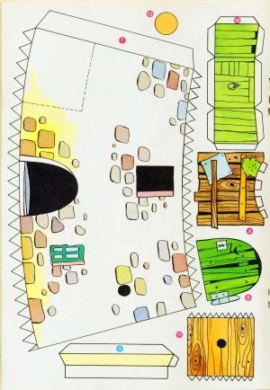 Pin by Carol Robinson on Papercraft Houses | Cool paper