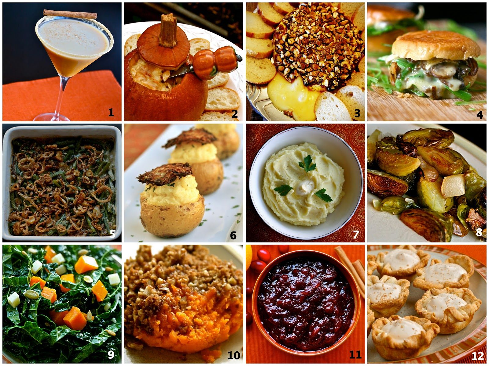 12 ideas for Thanksgiving side dishes e is for eat