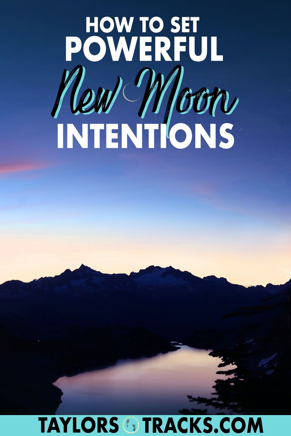 How to set powerful new moon intentions in 2020 new moon