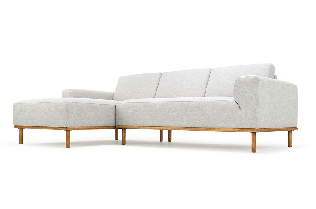 Contemporary Vilmar 3 seater sofa w chaiselong left Talent Cool Grey Smoked New Design - Best of 3 seater sofa Top Search