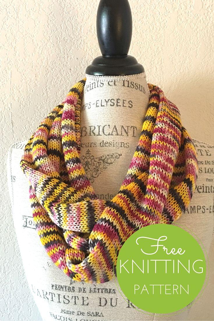 Artist Scarf/Cowl Free Knitting Pattern | Knitting patterns ...