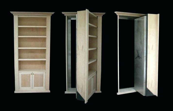 Bookcase With Hidden Door Medium Size Of Plans Bookshelf Architecture Diy Outswing