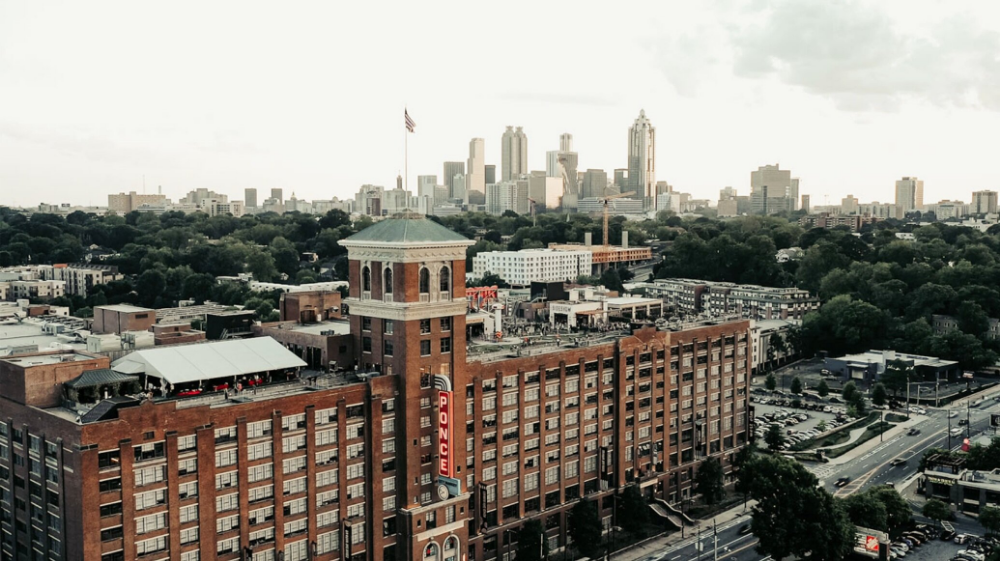 The Roof At Ponce City Market In 2020 City Market Panoramic Views City