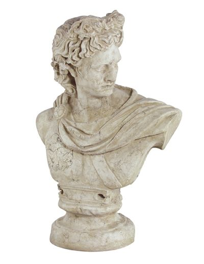 Alexander Bust - Stone Finish