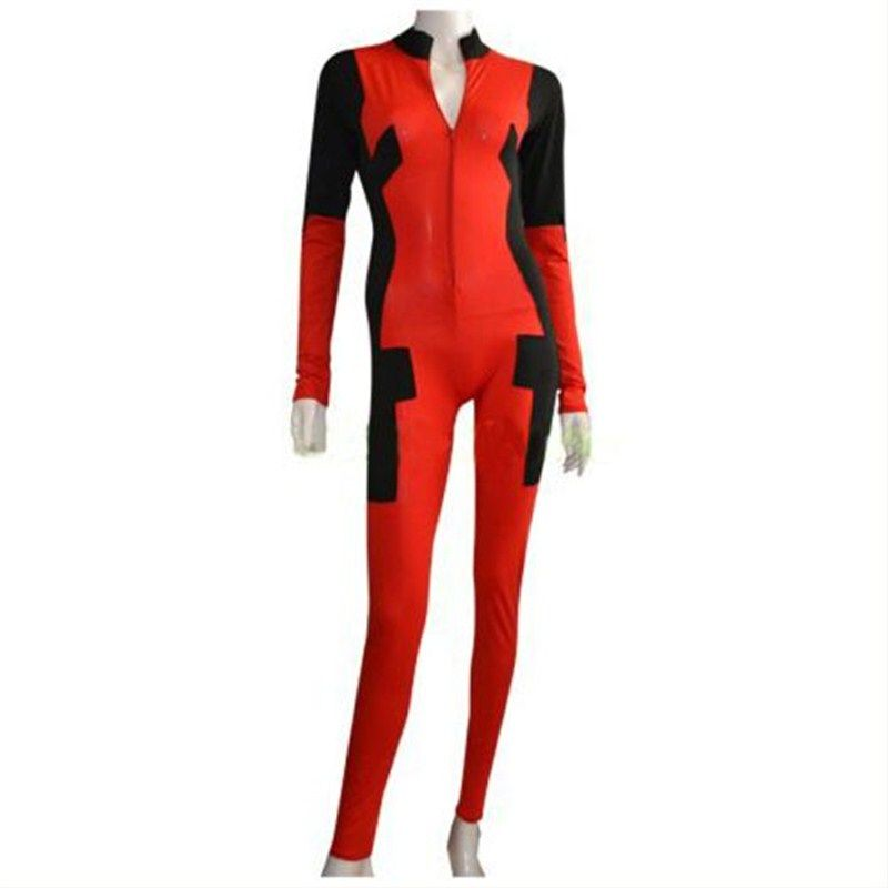 94353089b24  DeadpoolWomenCostume  DeadpoolCostume  SuperheroMovieCostume.Shop best  collection of superhero women deadpool costume with belt