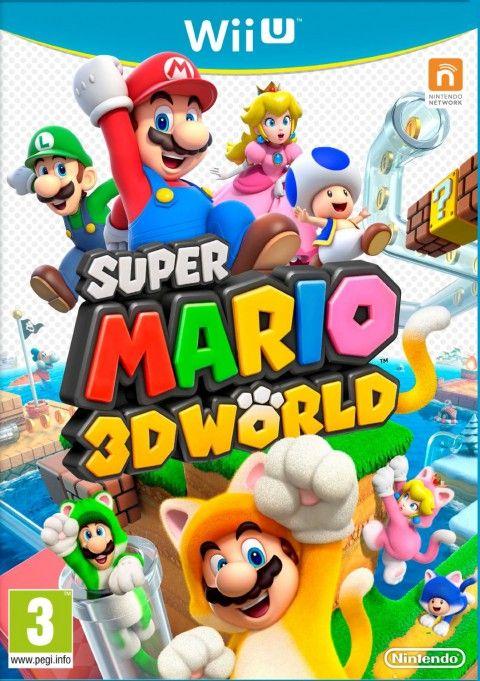 super mario 3d world sur wii u
