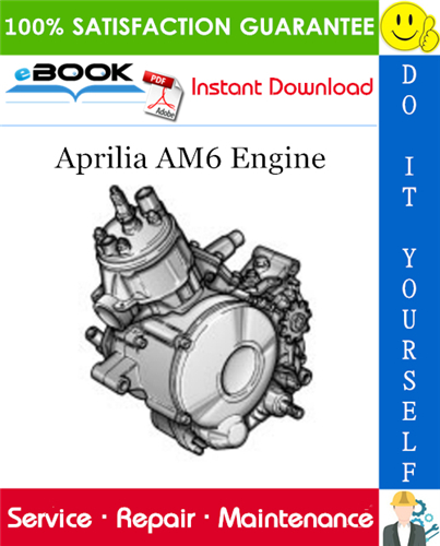 Aprilia Am6 Engine Service Repair Manual Repair Manuals Aprilia Repair