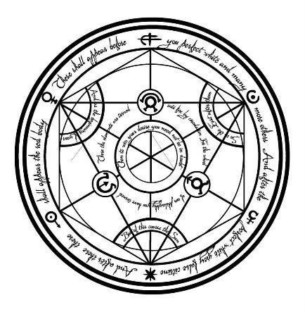 fullmetal alchemist mustang transmutation circle google