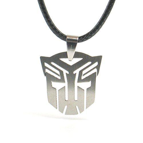 Transformers Halskette Autobots Decepticon Edelstahl Pendant mit Kette (Autobots) - http://schmuckhaus.online/papapanda/transformers-halskette-autobots-decepticon-mit-2