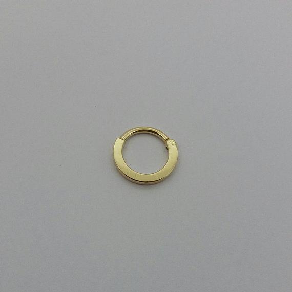 Clicker 14k Septum Clicker 16g Daith Earring Nose Ring Septum Clicker Nose Hoop Piercing Jewelry Septum Ring Septum Jewelry Nose Piercing Hoop Septum Jewelry Daith Earrings