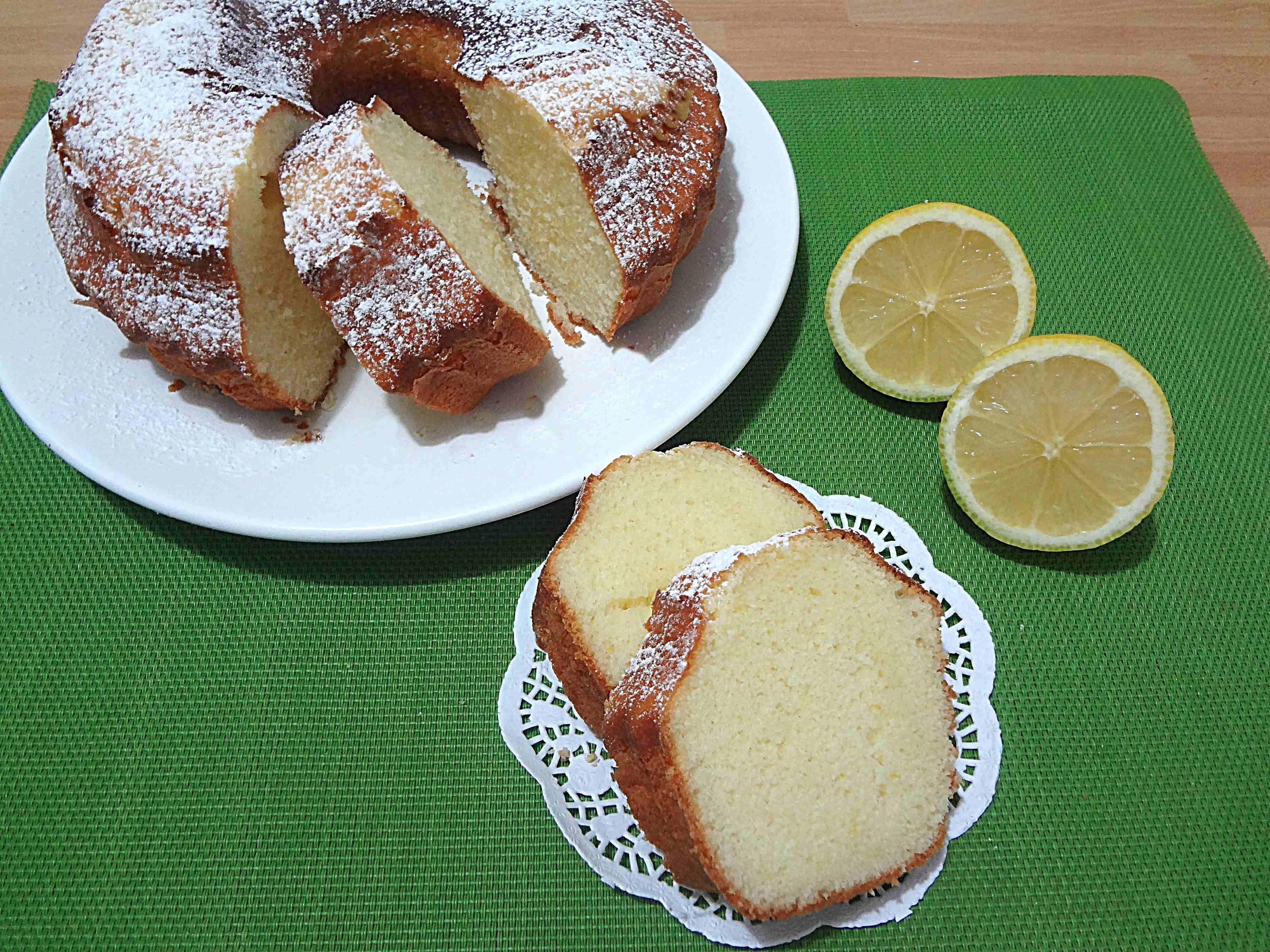 Ciambella Al Limone Con E Senza Bimby Bimby French Toast Treats