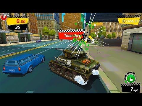 Crazy Taxi City Rush Uptown Art Works Tresure Island Android