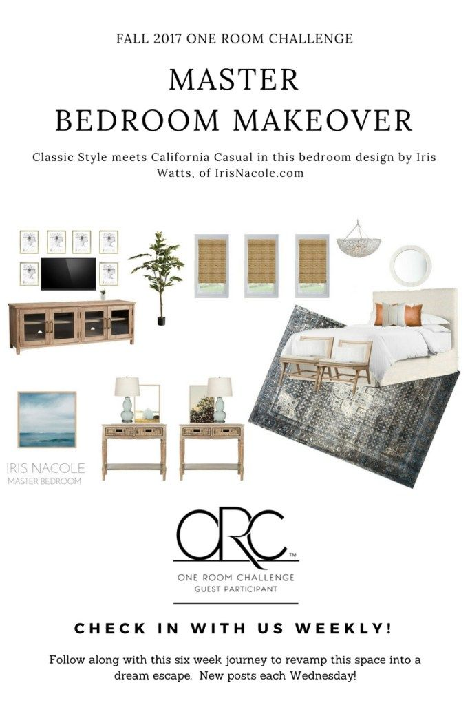 Best Classic Meets California Casual Master Bedroom Makeover 400 x 300