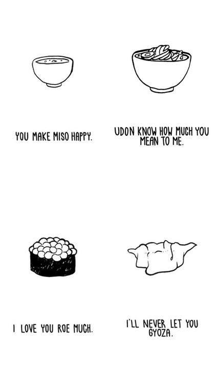 japanese food puns