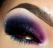 Photo of 101 Galaxy Inspired Eye Makeup Ideas – Fashiotopia  Marvelous 101 Galaxy Inspire…