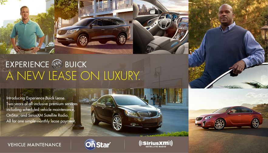 Experience Buick Program Strikes Gold With Peyton Manning Suv