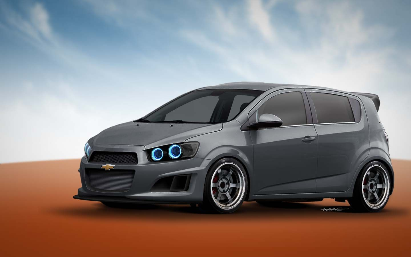 Custom 2012 Chevy Sonic Enthusiast Street Edition Chevy Sonic