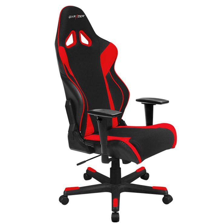 dxracer oh rw106 nr high back x rocker gaming chair strong mesh pu