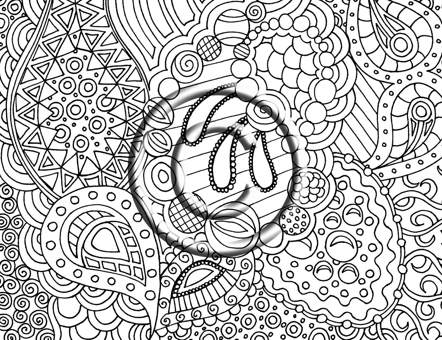 Coloring Pages Trippy For Print Coloring Pages Trippy