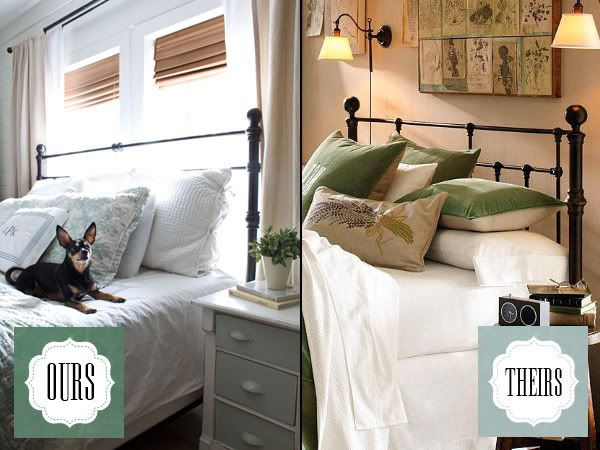 The blog The Lettered Cottage has a before and after makeover of a