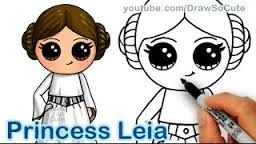 Resultado De Imagen De Kawaii Star Wars 365bocetos Dibujos