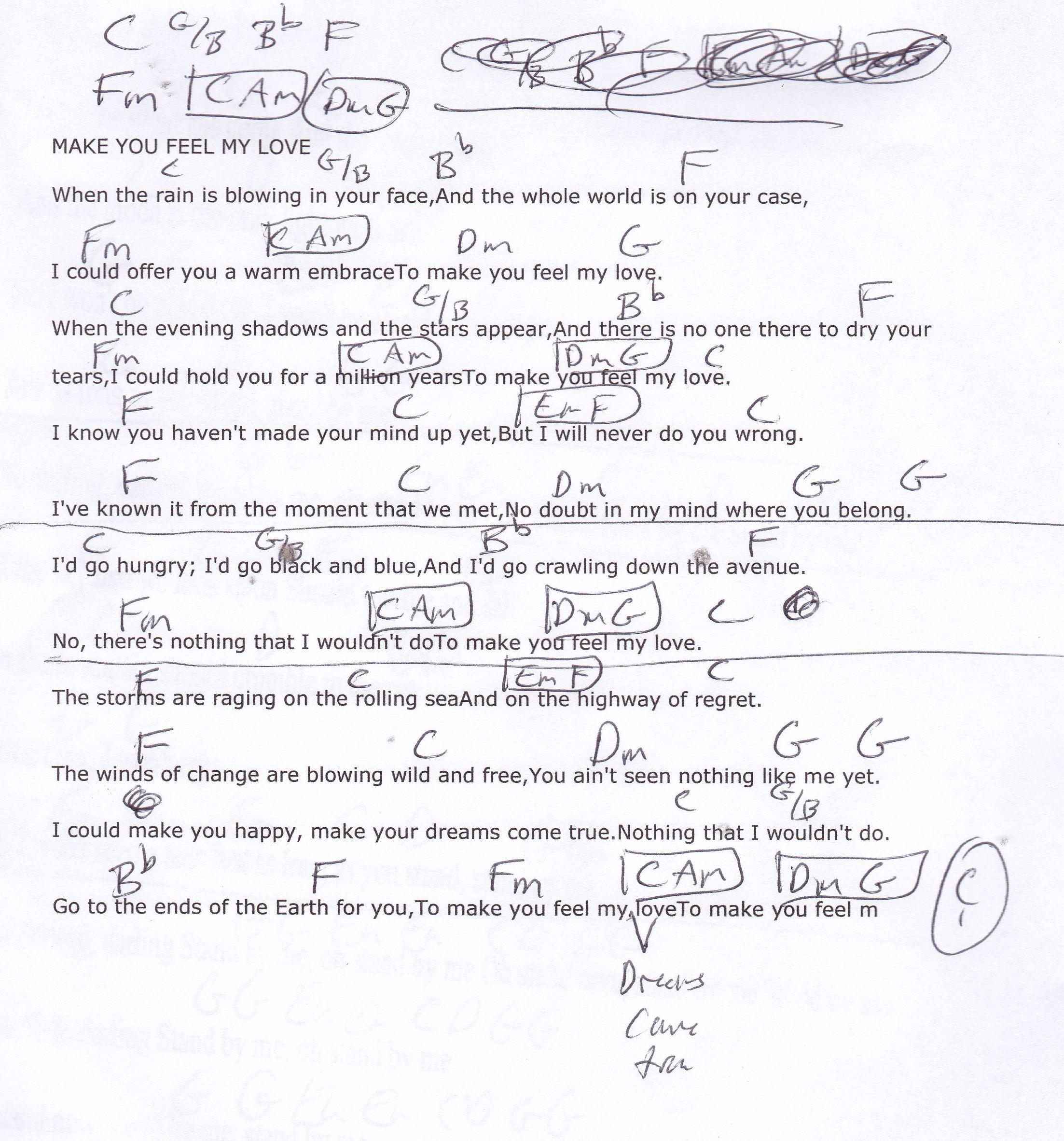 Make you feel my love garth brooks capo 3rd guitar lesson chord make you feel my love garth brooks capo 3rd guitar lesson chord chart hexwebz Image collections