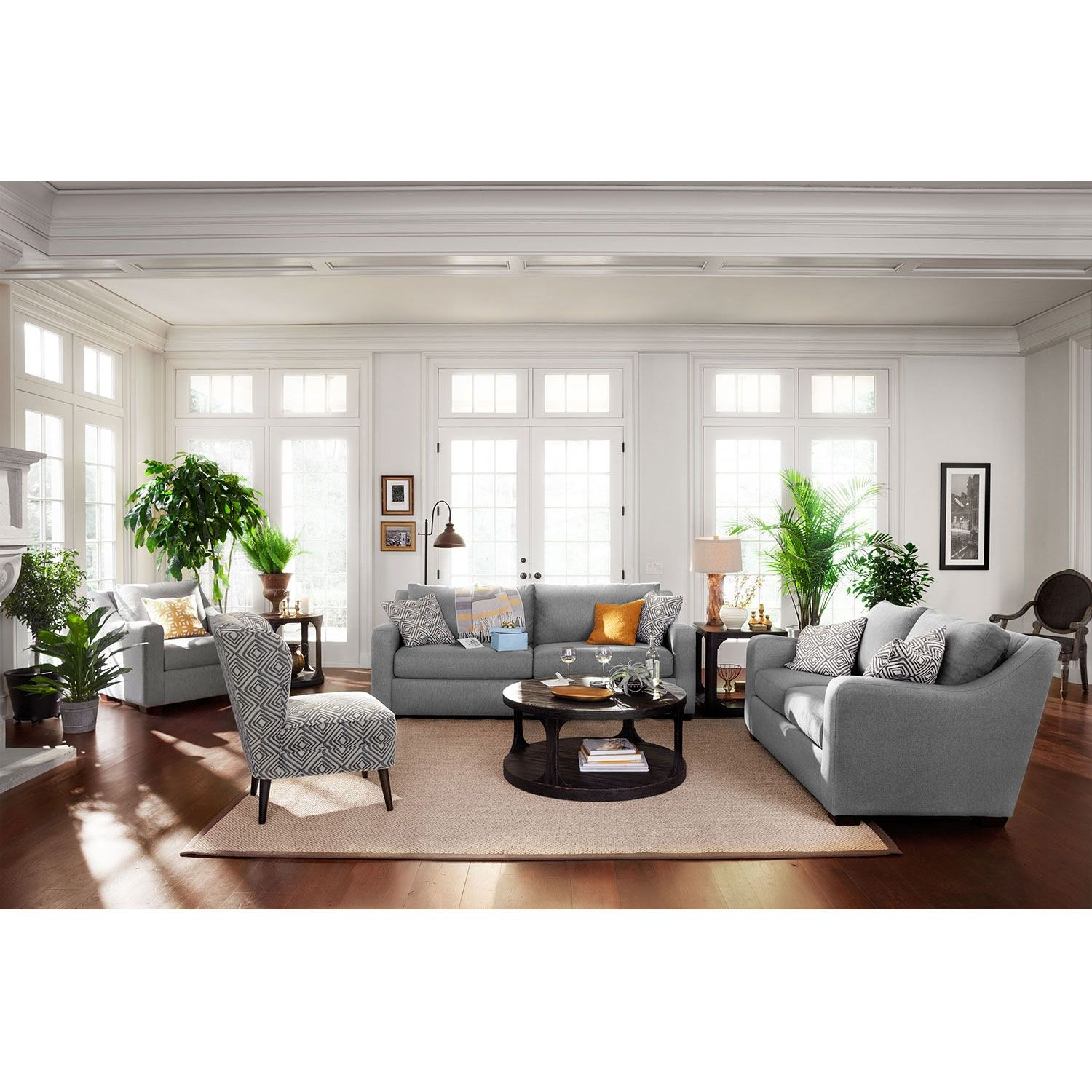 Graceful Gray Versatile gray color and classic design bine in