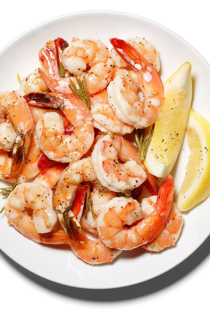 Roasted Shrimp With Rosemary and Lemon Recipe Seafood