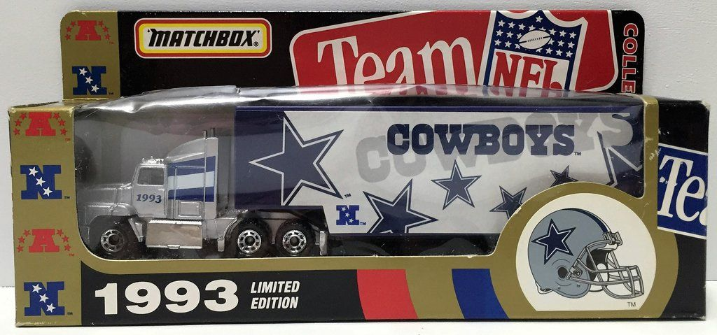 Nfl Toy Trucks : Tas matchbox team nfl football die cast