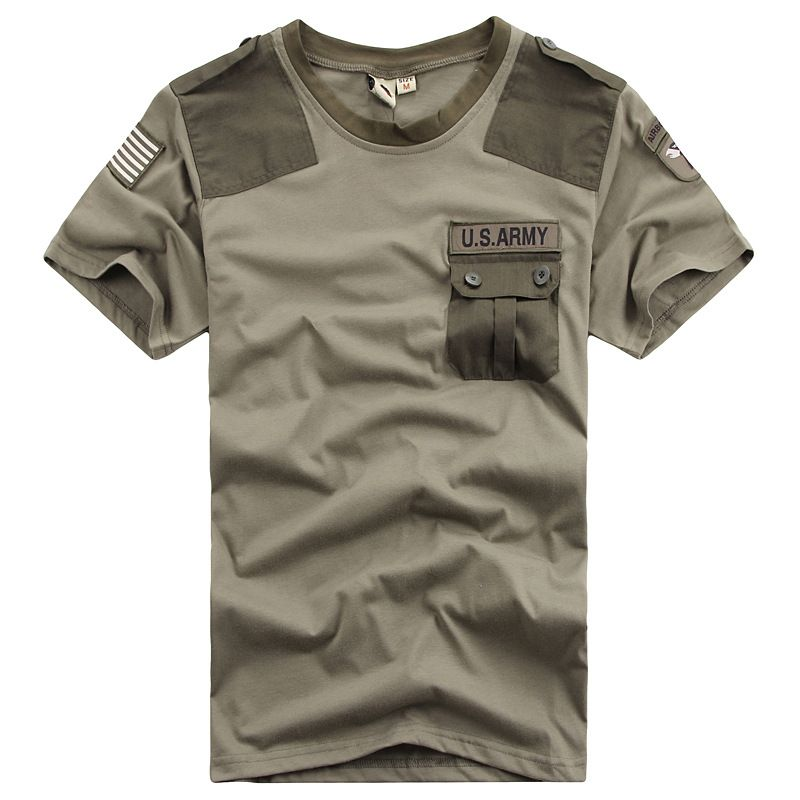 Summer Coolmax Tactical Camouflage T Shirt Men Breathable Quick Dry US Army  Training Combat T-