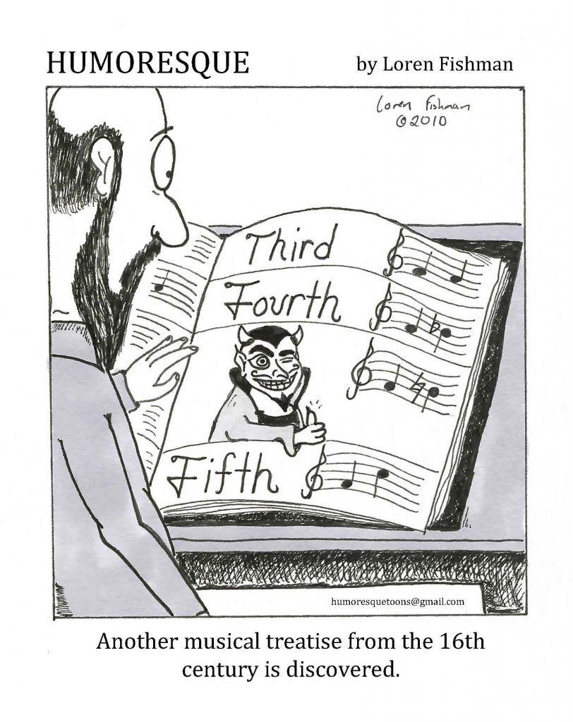 Satan's Interval Music jokes