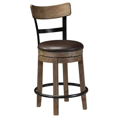 Inspirational Bar Stool with Backrest