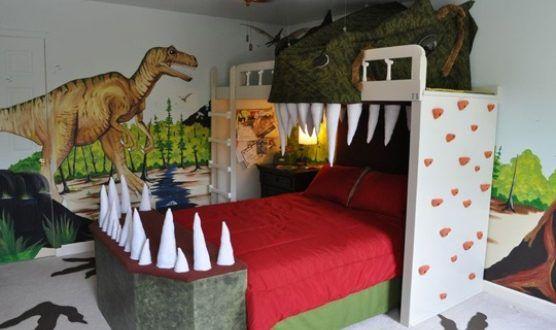 Spectacular Dinosaur Theme For A Small Bedroom Callyn