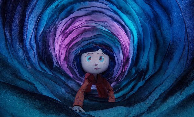 Coraline In The Tunnel To The Other World Coraline Movie Coraline Jones Coraline