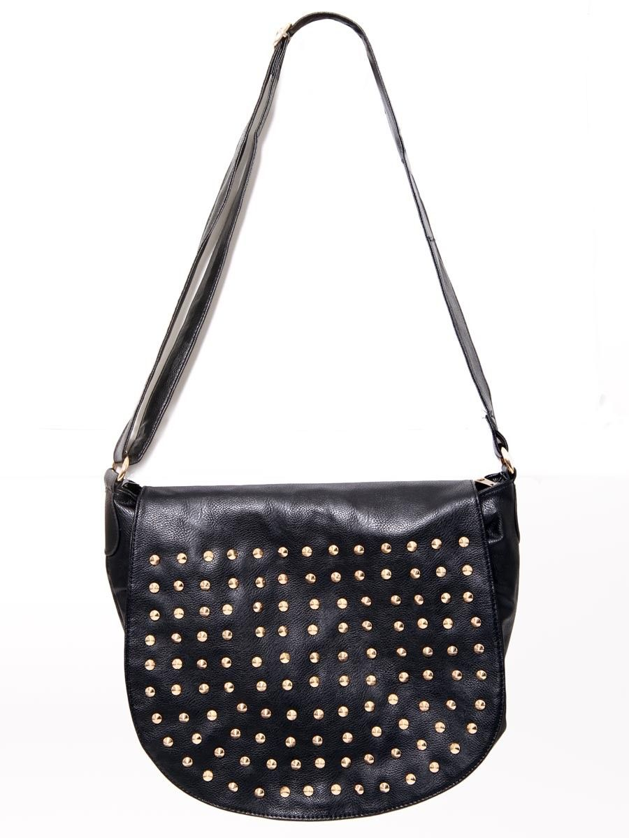 Studded Messenger #Bag