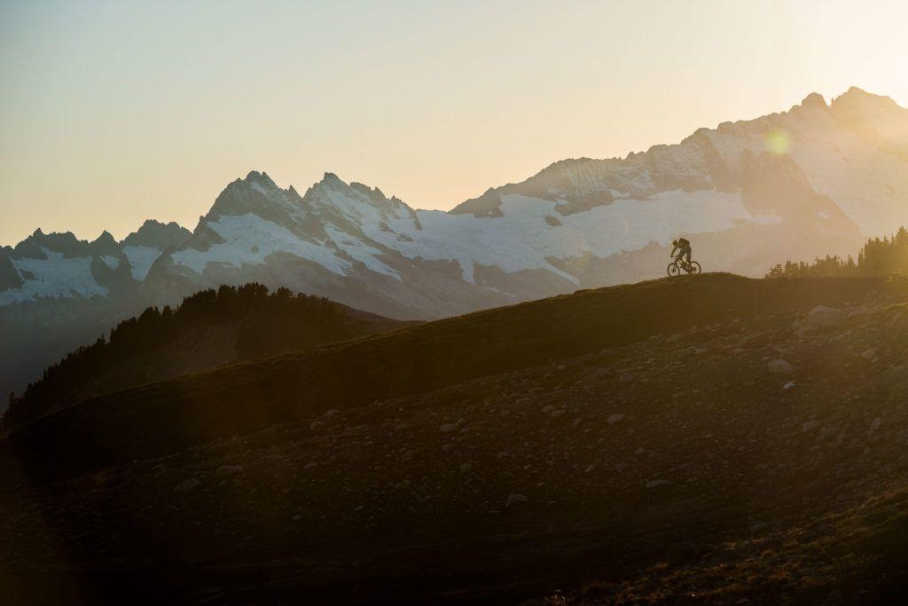 It's tough to beat the views in Whistler. Photo: Blake Jorgenson