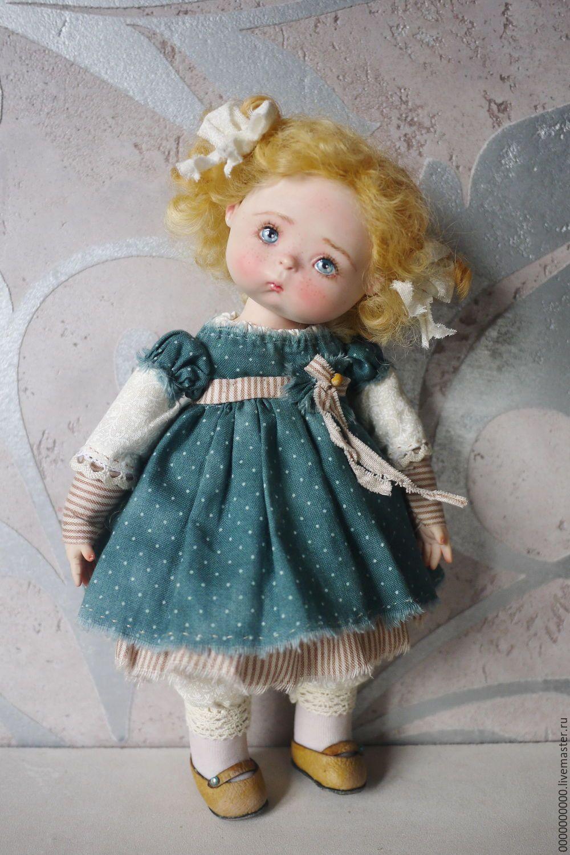 Купить Тоня - авторская кукла, коллекционная кукла, интерьерная кукла, авторская кукла купить