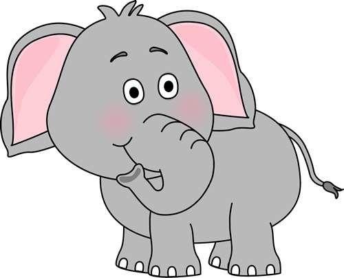 Cute Elephant Clip Art 139212 - Vergilis Clipart