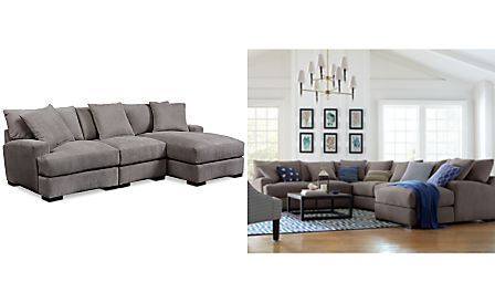 Rhyder 3 Piece Sectional With Chaise Arm Furniture
