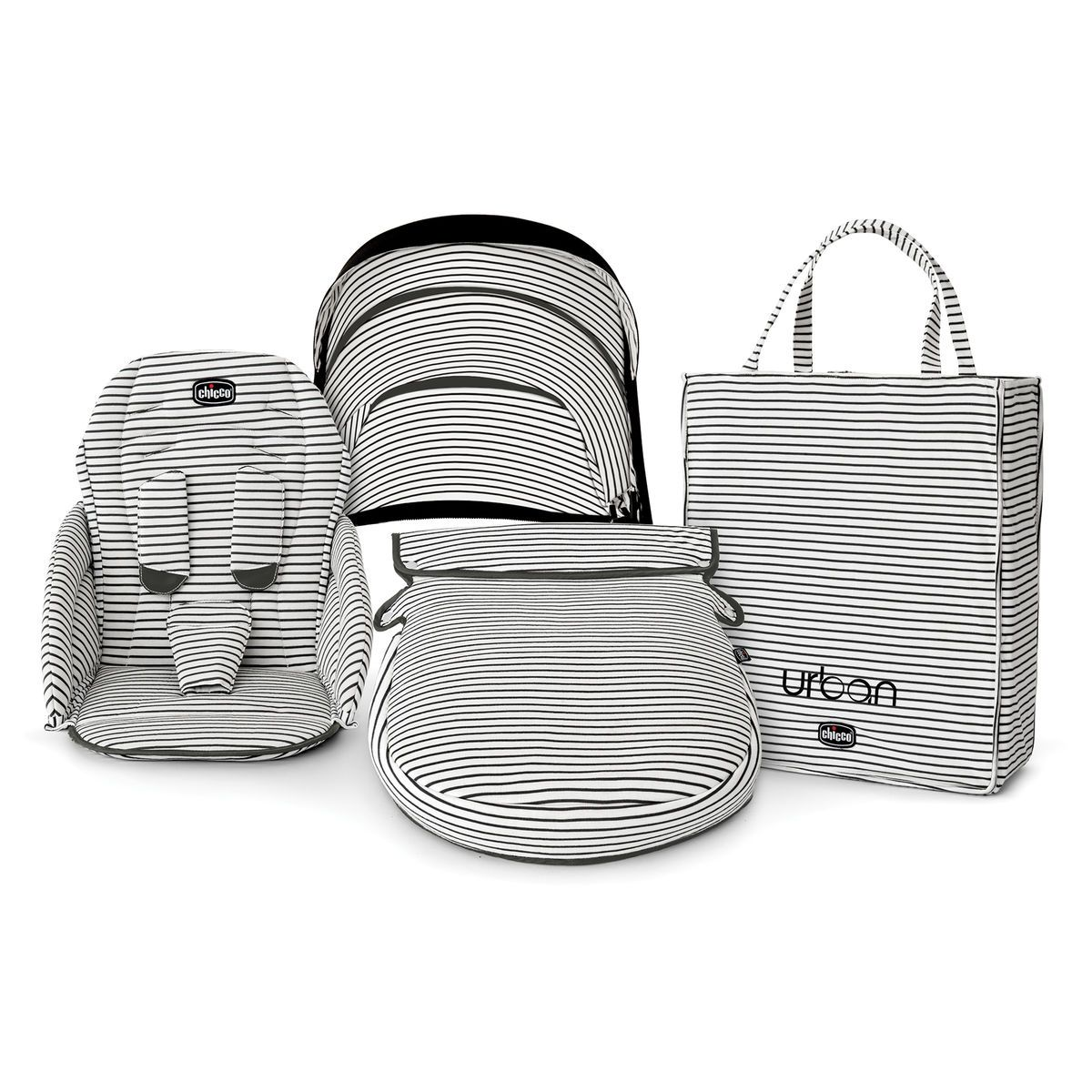 15++ Chicco urban stroller accessories information