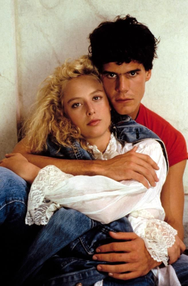 Virginia Madsen And Craig Sheffer In Fire With Fire 1986 Such