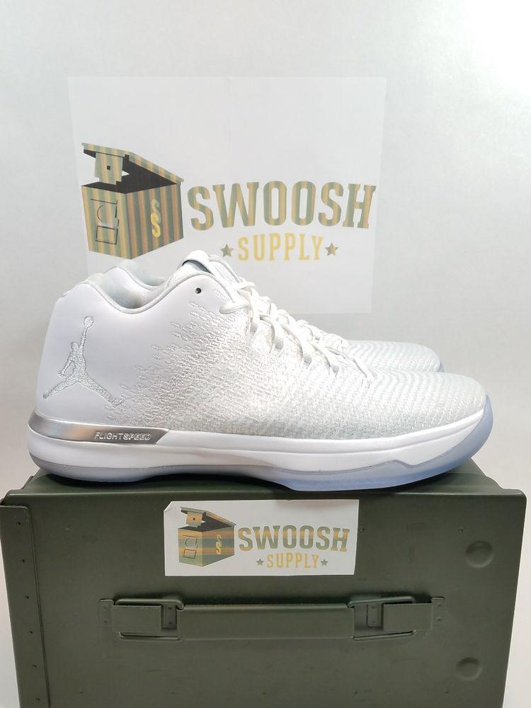 more photos 751e2 61921 Details about RARE🔥 Nike Air Jordan XXXI 31 Low Pure ...