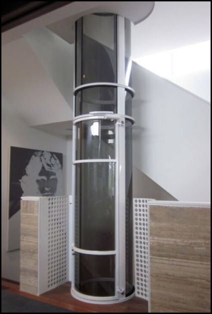 World S Smallest Home Elevator With A 30 Quot Diameter Single