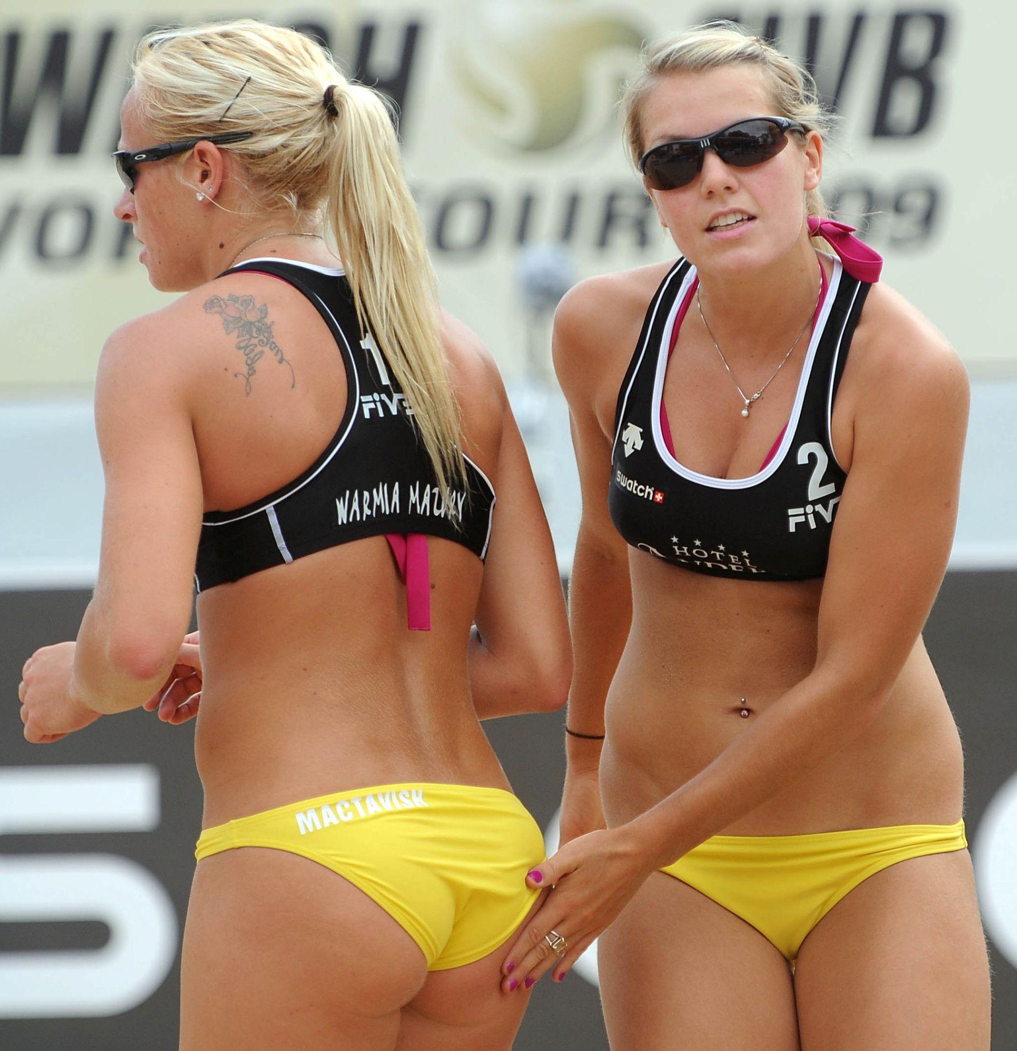 Nude Brazilian Women Beach Volleyball