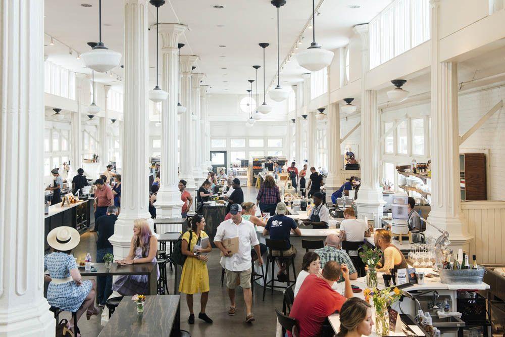 roch market in new orleans is always buzzing