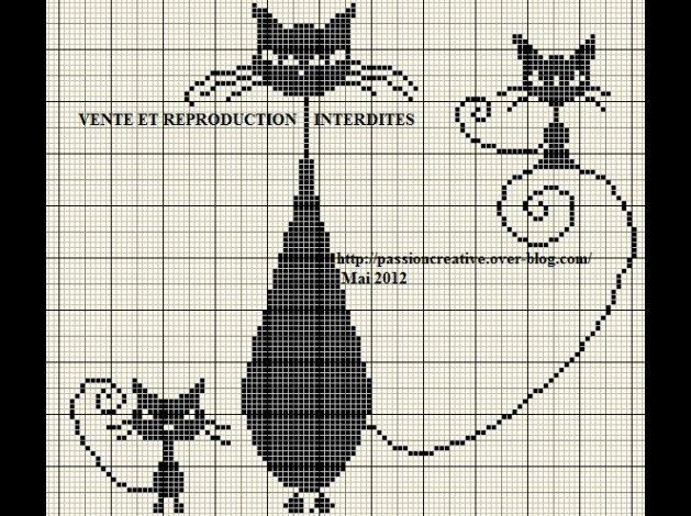 mes grilles 2011 2012 points de croix pinterest. Black Bedroom Furniture Sets. Home Design Ideas