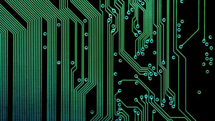 Circuit Board Wallpaper Patterns - Wiring Diagram •