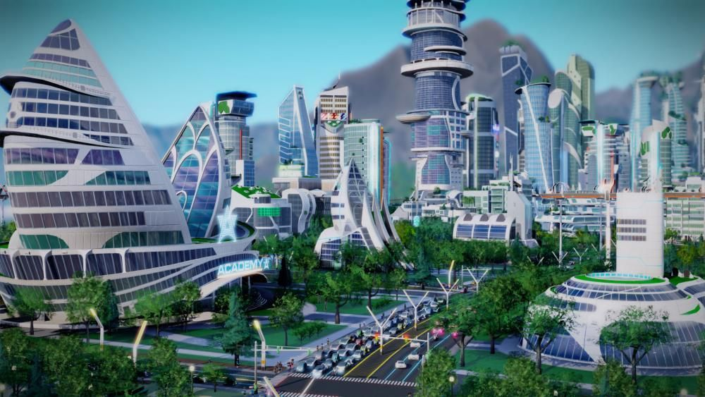 utopian society - 04/04/2016 Spires and background art for