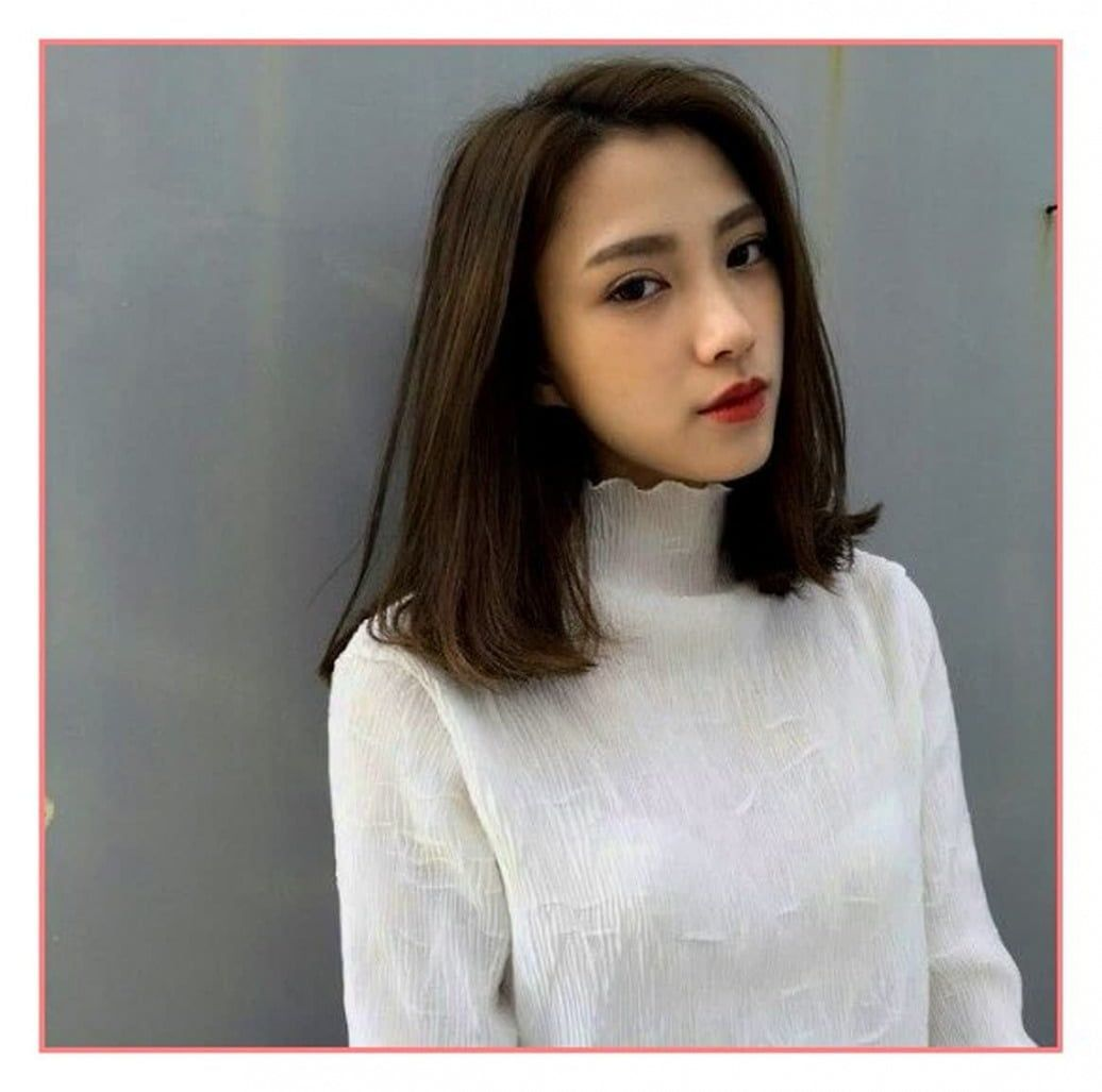 Short Hairstyles For Women Korean in 11  Short hair styles